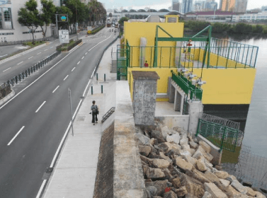 The Design and Build Project of the Sewage Pipe of the Rainwater Discharge along Rua de Preta